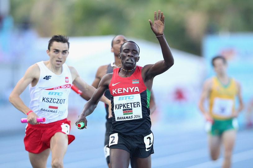 Adam Kszczot finiszuje za Alfredem Kipketerem /Christian Petersen /Getty Images