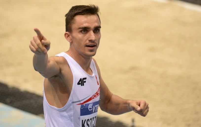 Adam Kszczot po biegu eliminacyjnym /Bartłomiej Zborowski /PAP