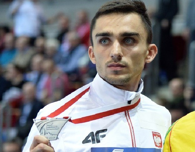 Adam Kszczot srebrny w Sopocie. /AFP