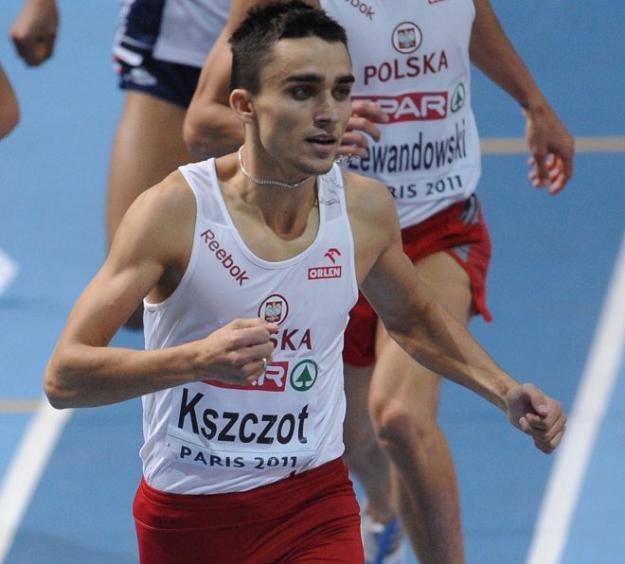 Adam Kszczot ustanowił nowy rekord Polski na 1000 m - 2.16,99 /AFP
