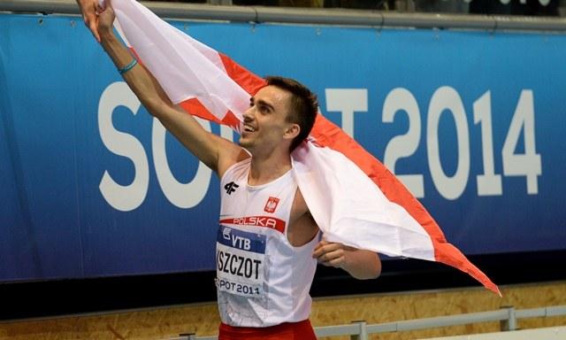 Adam Kszczot /Bartłomiej Zborowski /PAP