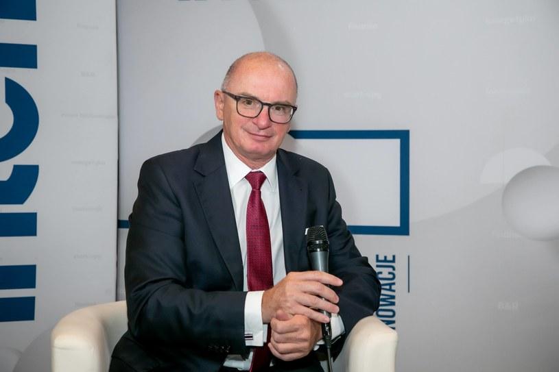 Adam Łącki, prezes Krajowego Rejestru Długów. /Ireneusz Rek /INTERIA.PL