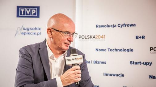Adam Łącki, prezes KRD, z Krynicy-Zdroju dla czytelników Interii