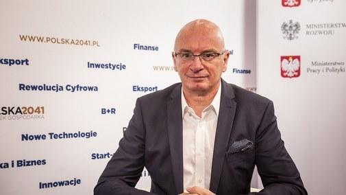 Adam Łącki, prezes KRD