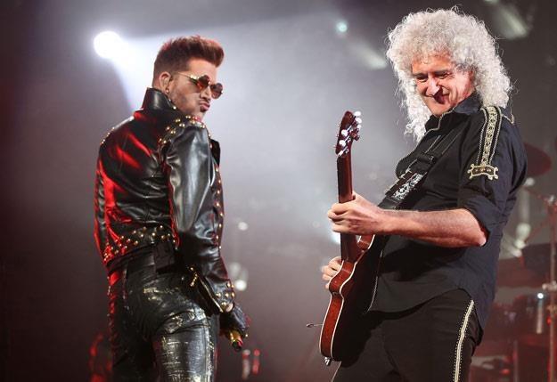 Adam Lambert i Brian May: Jest chemia na scenie (fot. Mark Metcalfe) /Getty Images