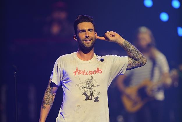 "Adam Levine (Maroon 5): ""Kto jest najseksowniejszy?"" fot. Ethan Miller /Getty Images/Flash Press Media"