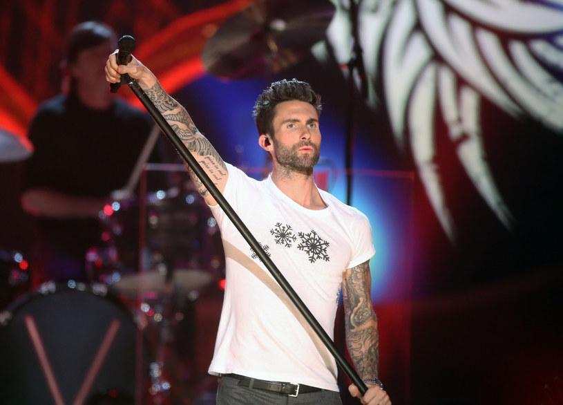 Adam Levine z Maroon 5 /Frederick M. Brown /Getty Images