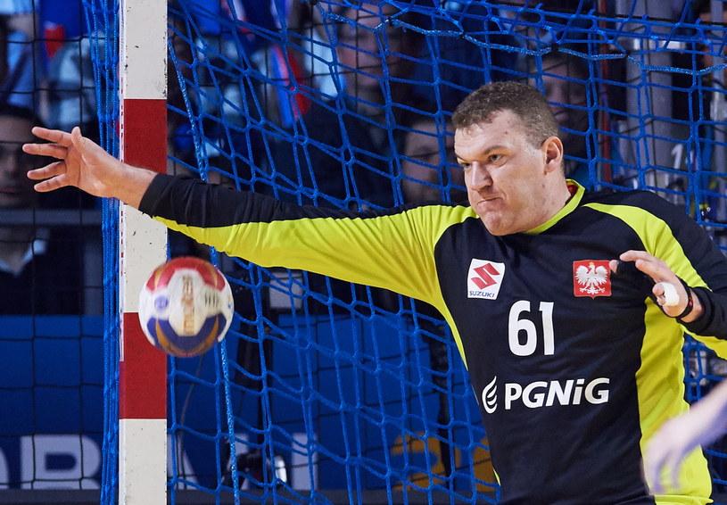Adam Malcher znów rozegrał znakomity mecz /Fot. Adam Warżawa /PAP