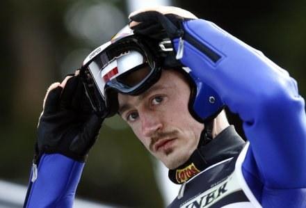 Adam Małysz był dopiero 11. na ostatnim treningu przed konkursem w Ga-Pa. /AFP
