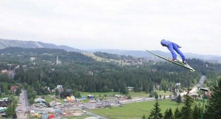 Adam Małysz dzisiaj znów będzie latał nad Zakopanem/Fot: Jerzy  Kleszcz /Agencja Przegląd Sportowy