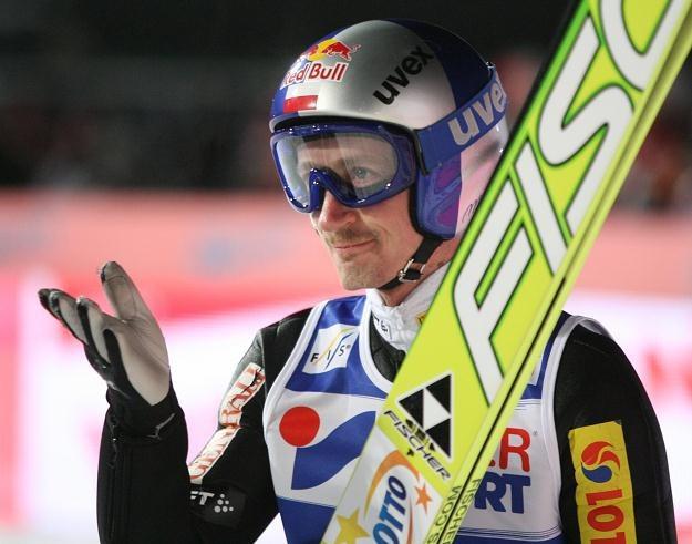 Adam Małysz Fot. Grzegorz Momot /PAP