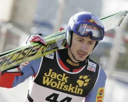 Adam Małysz Fot. Jerzy Kleszcz /Agencja Przegląd Sportowy