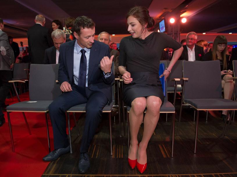Adam Małysz i Justyna Kowalczyk /fot. Bartosz Krupa /East News
