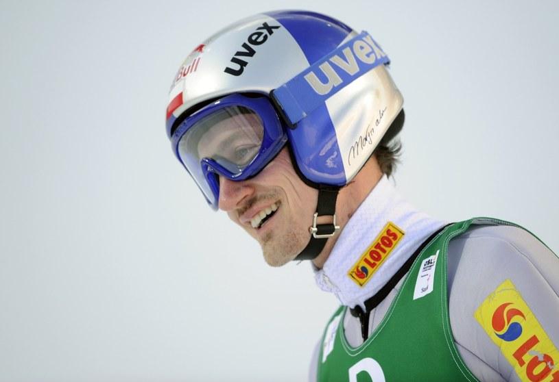 Adam Małysz jeszcze jako skoczek /AFP