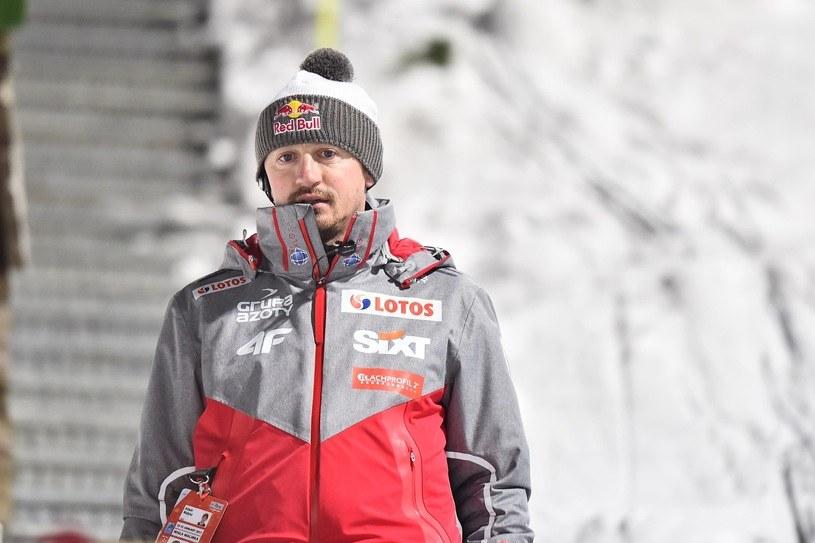 Adam Małysz komplementuje Stefana Hulę /Fot. Mateusz Jagielski /East News