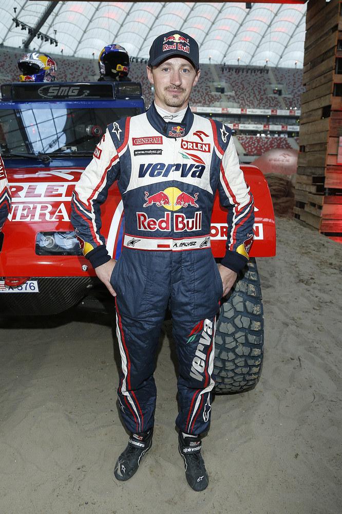 Adam Małysz po raz czwarty wystartował w Rajdzie Dakar /Jordan Krzemiński /AKPA