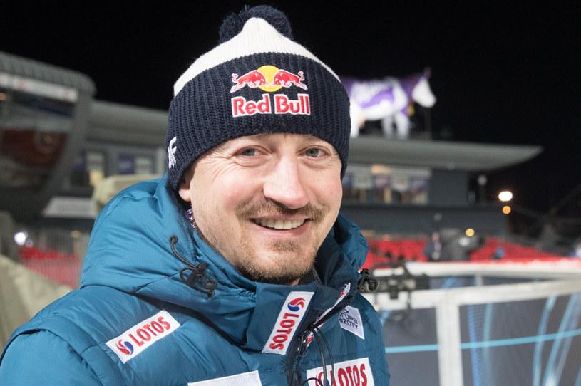 Adam Małysz pokazał swój przydomowy ogród /fot. Andrzej Iwanczuk/REPORTER /Reporter