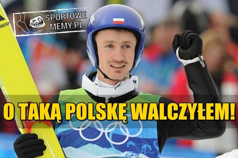 Adam Małysz przetarł szlak do zwycięstwa /Sportowememy.pl /Internet