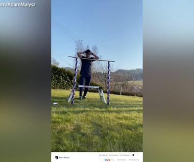 Adam Małysz przyjął wyzwanie Schlierenzauera. Wideo