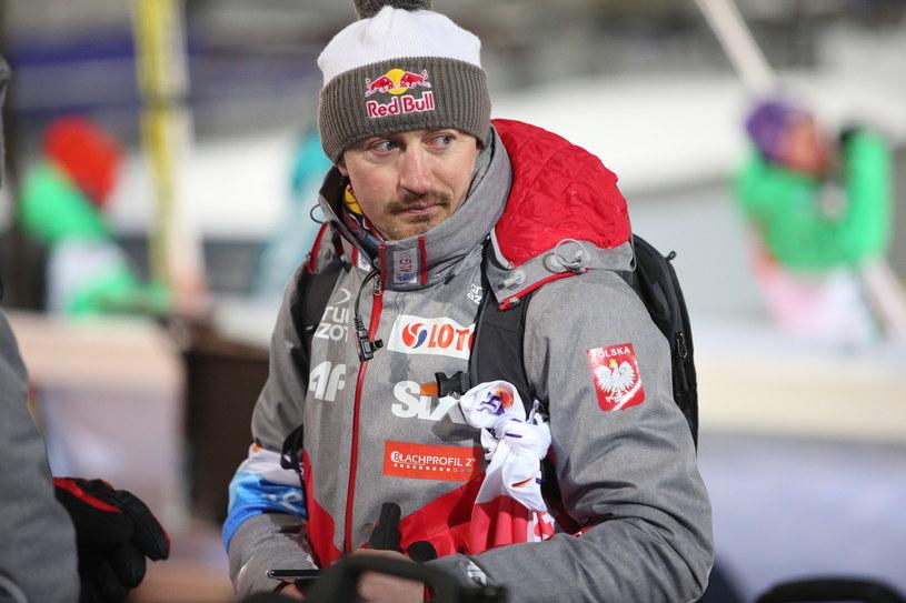 Adam Małysz w Lahti /Grzegorz Momot /PAP