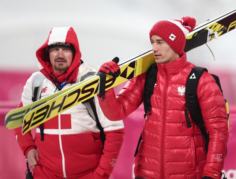 Adam Małysz (z lewej) i Kamil Stoch /fot. Paweł Relikowski/Polska Press /East News