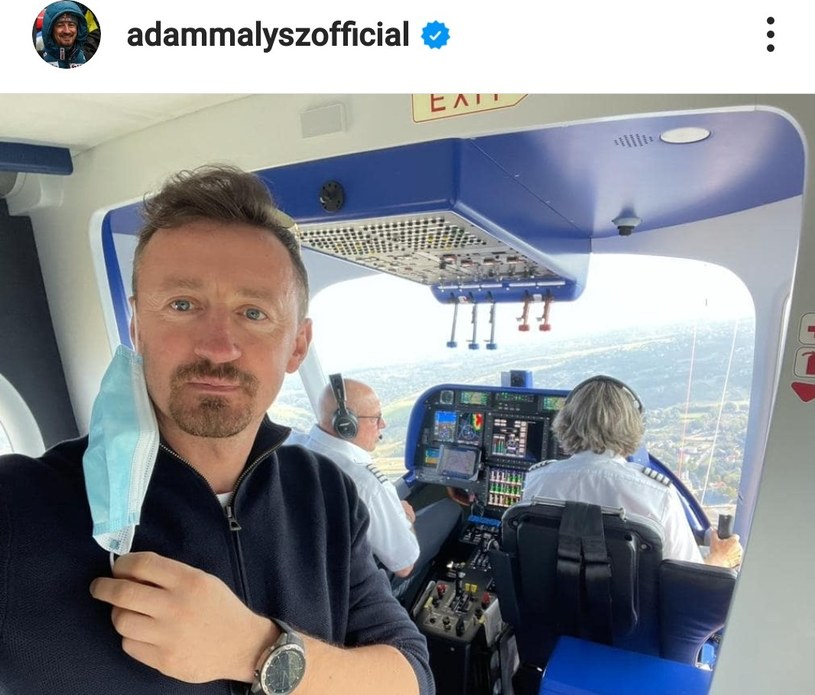 Adam Małysz/ Źródło: Instagram /