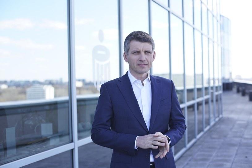 Adam Marciniak, wiceprezes PKO Banku Polskiego. /