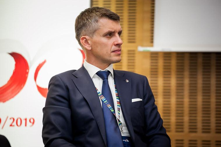 Adam  Marciniak, wiceprezesem PKO BP, fot. Ireneusz Rek /INTERIA.PL