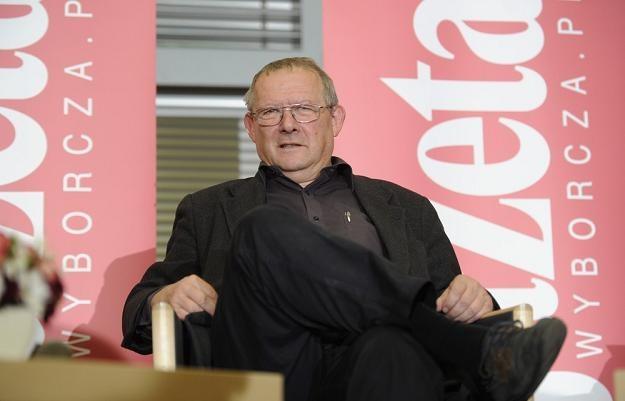 """Adam Michnik, naczelny """"Gazety Wyborczej"""". Fot. Piotr Blawicki /Agencja SE/East News"""