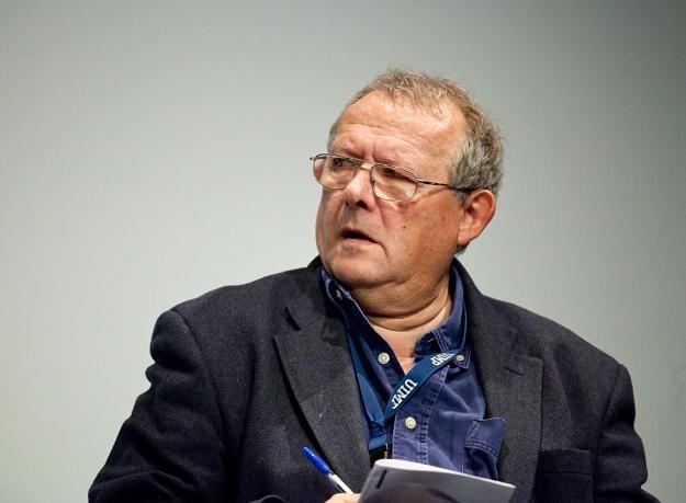 """Adam Michnik, red. naczelny """"Gazety Wyborczej"""". Fot. KAROL SEREWIS /Agencja SE/East News"""
