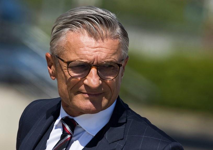Adam Nawałka to jeden z najbardziej stylowych polskich trenerów /AFP