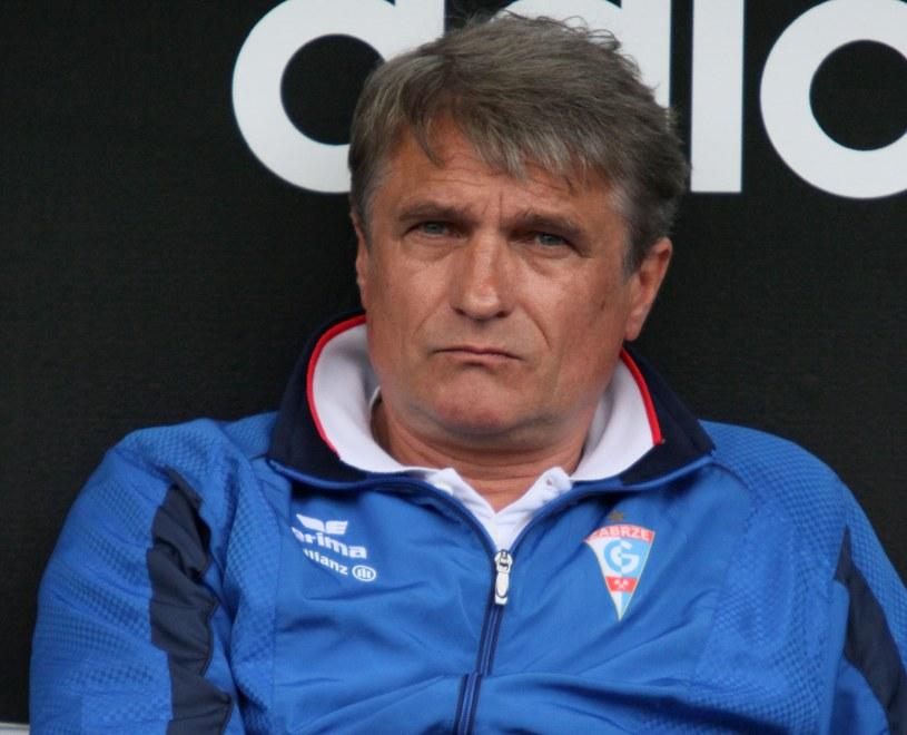 Adam Nawałka, trener Górnika /PAP