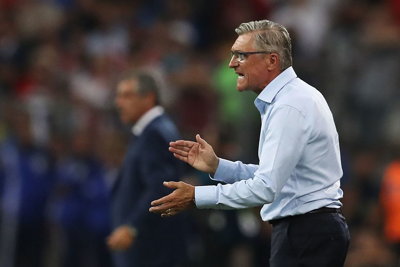 Adam Nawałka - trener piłkarskiej reprezentacji Polski /AFP