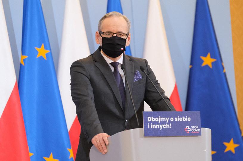 Adam Niedzielski, minister zdrowia /Mateusz Grochocki /East News