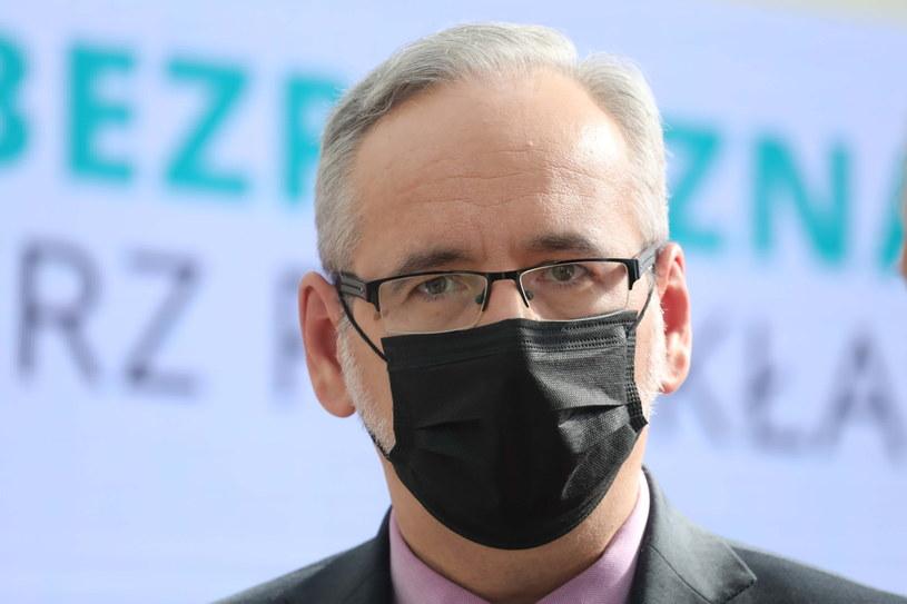 Adam Niedzielski, minister zdrowia /Albert Zawada /PAP