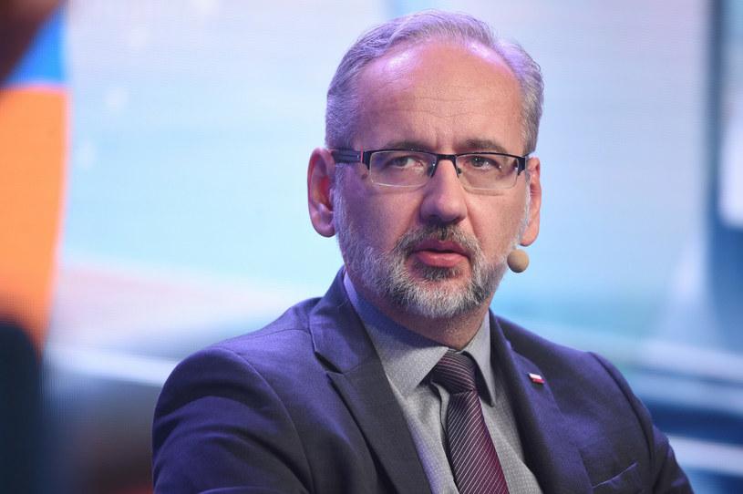 Adam Niedzielski, minister zdrowia /Zbyszek Kaczmarek /Reporter