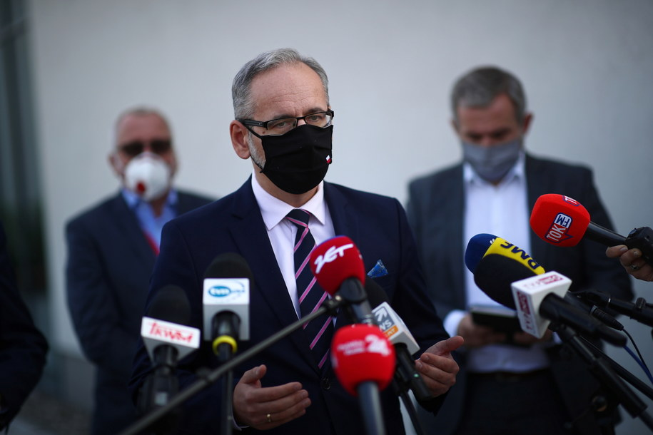 Adam Niedzielski /Łukasz Gągulski /PAP