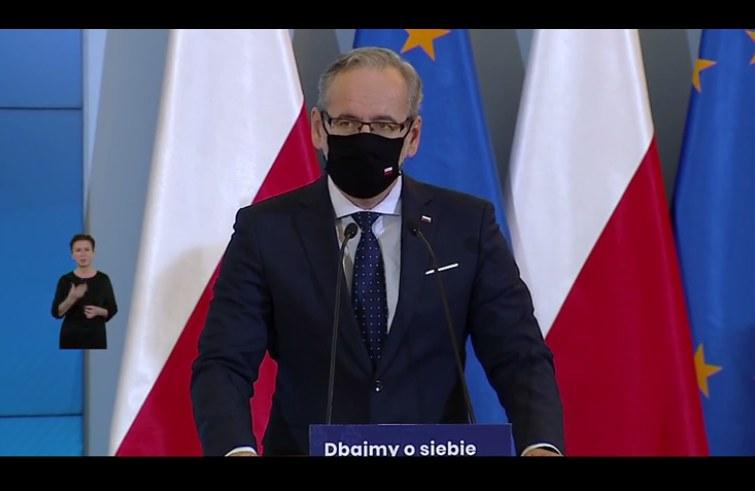 Adam Niedzielski /Polsat News /Polsat News