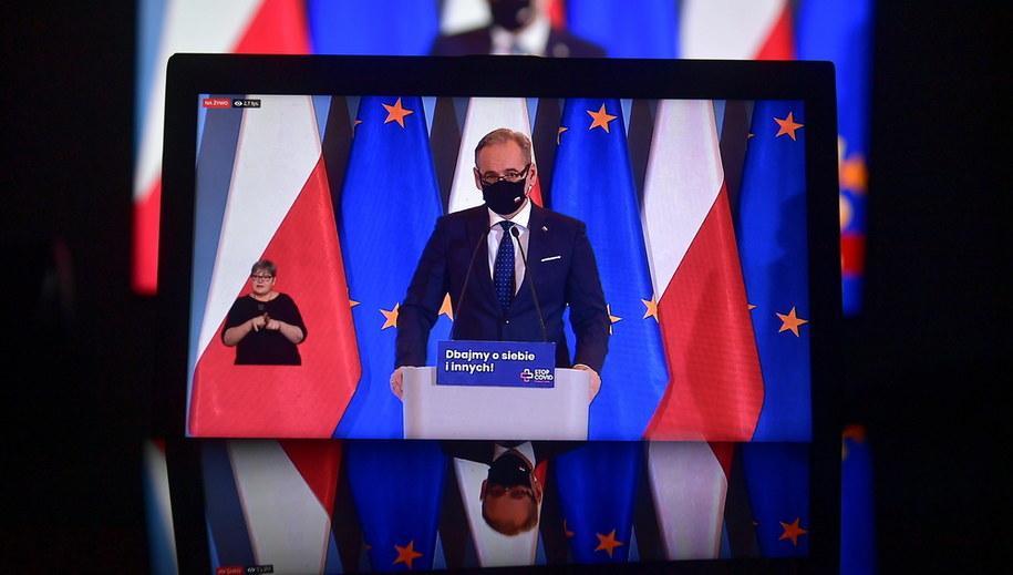 Adam Niedzielski / Marcin Obara  /PAP