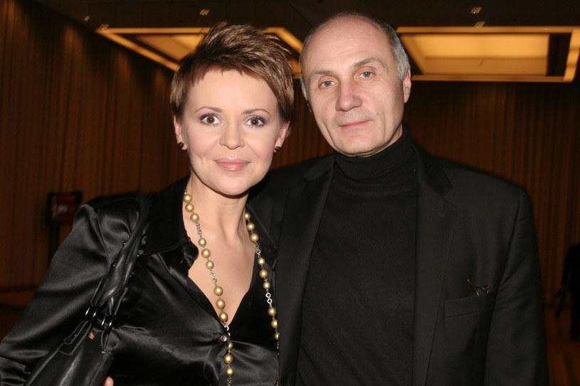 Adam Pieczyński i Justyna Pochanke w 2007 roku /AKPA