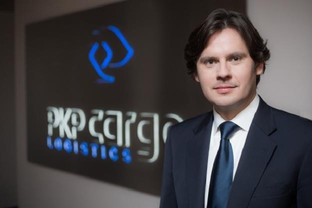 Adam Purwin, prezes PKP Cargo /Informacja prasowa