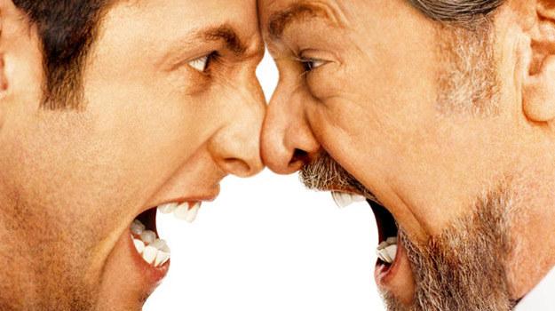 """Adam Sandler i Jack Nicholson jako """"dwaj gniewni ludzie"""". Obyśmy mieli w weekend lepszy humor... /materiały dystrybutora"""
