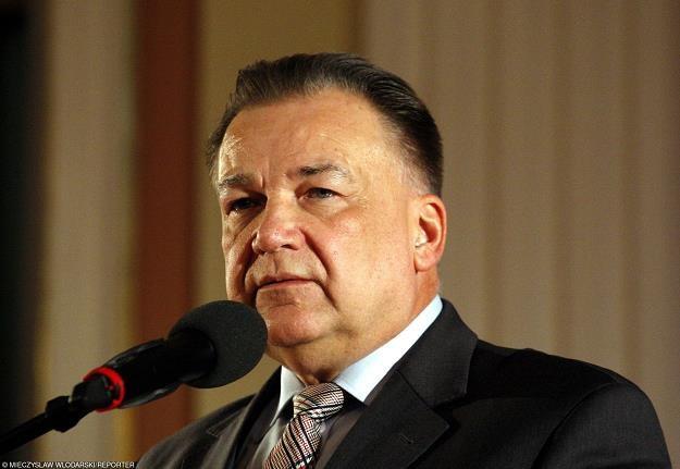 Adam Struzik, marszałek województwa mazowieckiego. Fot. Mieczysław Włodarski /Reporter