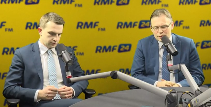 Adam Szłapka i Arkadiusz Mularczyk /RMF FM