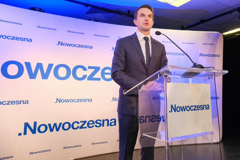 Adam Szłapka /Grzegorz Banaszak/REPORTER /Reporter