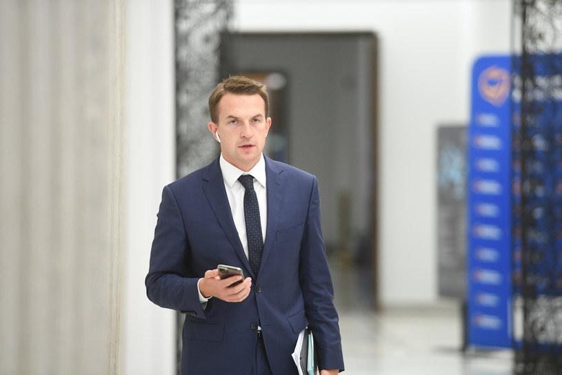 Adam Szłapka /Jacek Dominski/REPORTER /Reporter