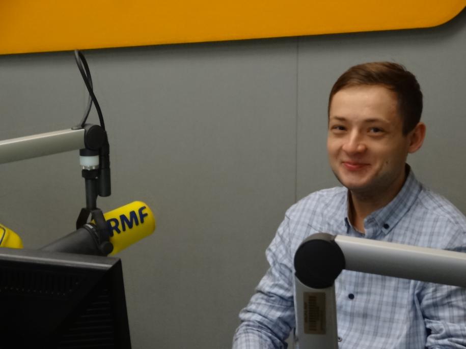 Adam Tużnik /Grzegorz Jasiński /RMF FM