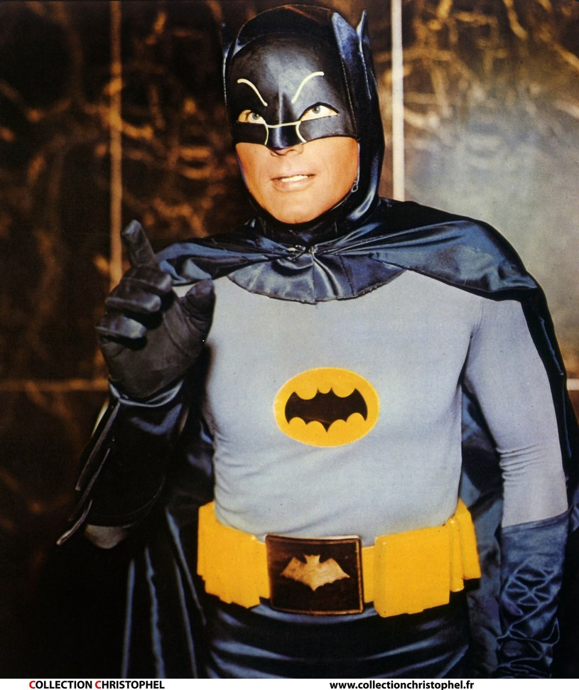 Adam West jako Batman /East News