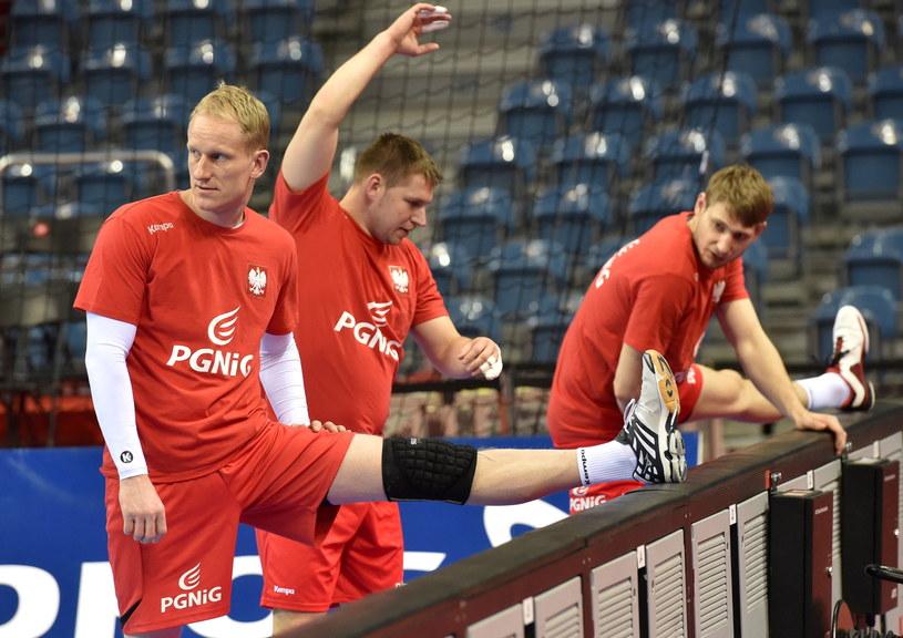 Adam Wiśniewski (pierwszy z lewej) /Jacek Bednarczyk /PAP