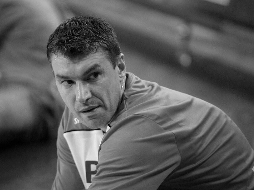 Adam Wójcik odszedł zdecydowanie przedwcześnie... Cześć Jego pamięci /Fot. Michał Szalast /East News